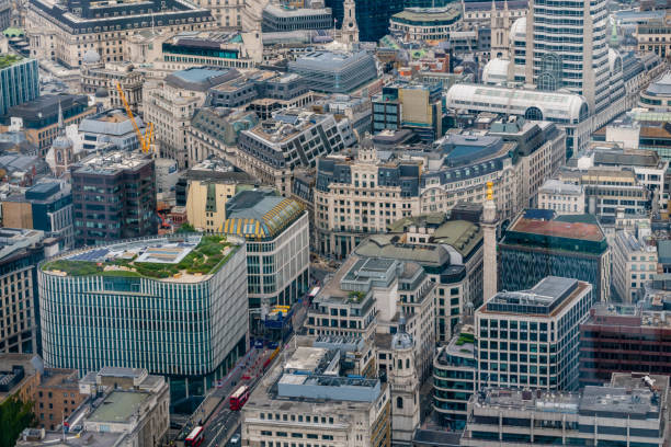View of London Centre stock photo