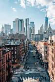 istock View of Madison Street and the Financial District from the Manhattan Bridge, in the Lower East Side, New York City 1284150106