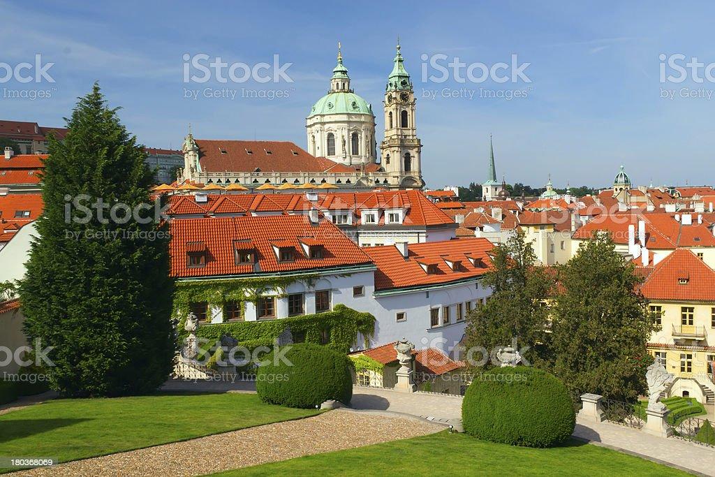 View of 'Mala Strana'. Prague, Czech Republic royalty-free stock photo