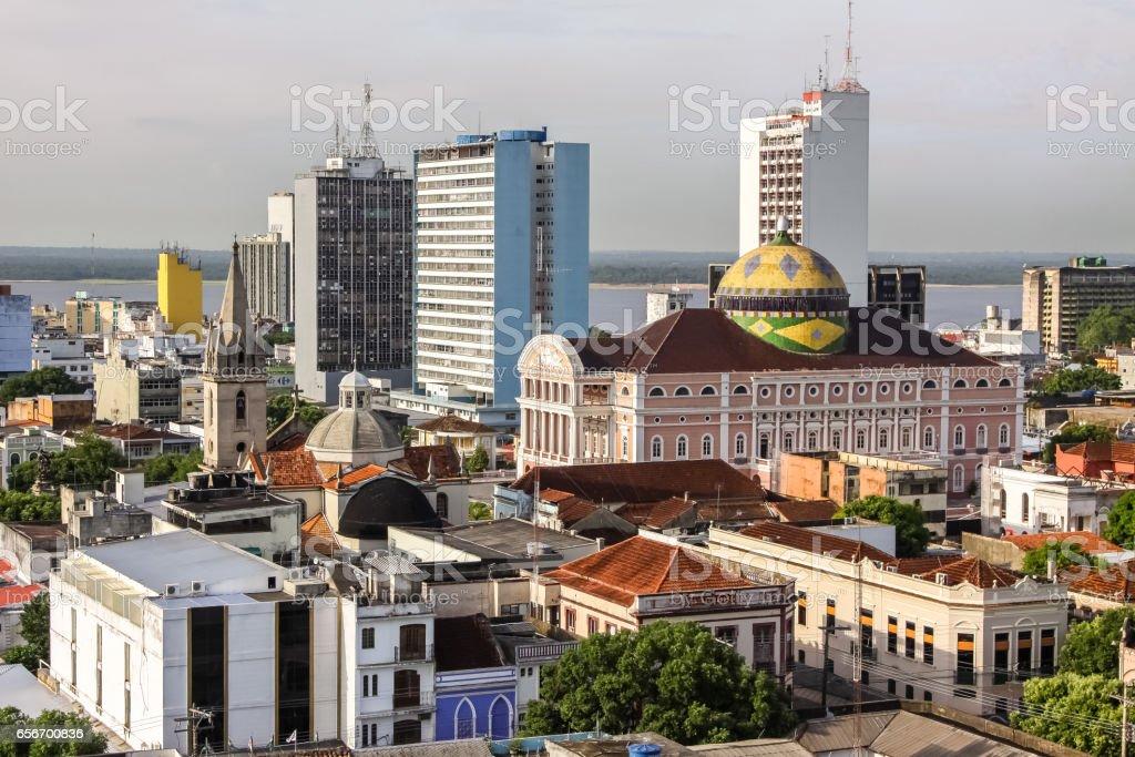 Mit Teatro Amazonas Manaus Überblick – Foto