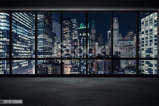 View of Manhattan at Night