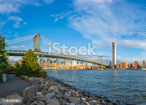 View of Manhattan Bridge, New York City