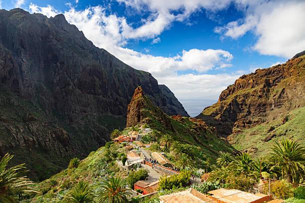 Blick von Masca village, Teneriffa, Kanarische Inseln, Spanien – Foto