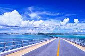 伊良部大橋から見た宮古島方向のビュー
