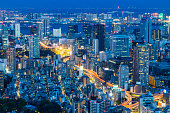istock View of modern Tokyo city at night Japan 1160599207