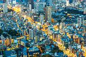 istock View of modern Tokyo city at night Japan 1160599245