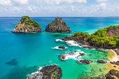 Fernando de Noronha is a paradisiac tropical island off the coast of Brazil