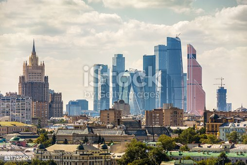istock View of Moscow, Russia 831752424