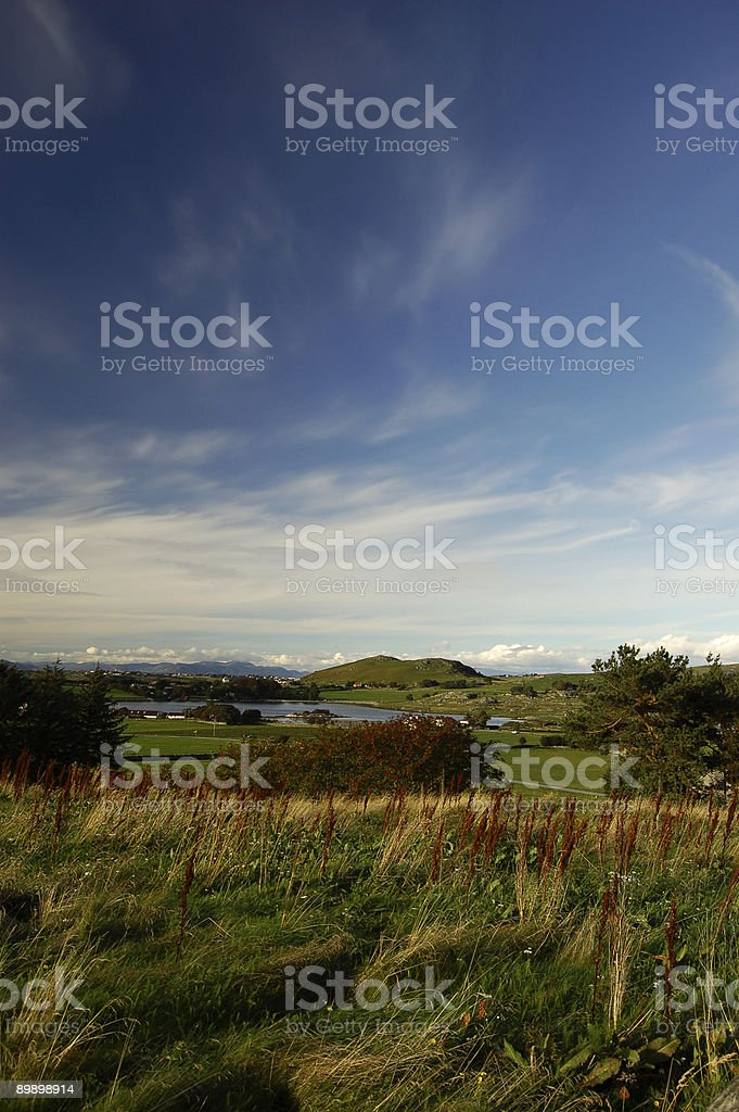 View of Mosterøy Norway royalty-free stock photo