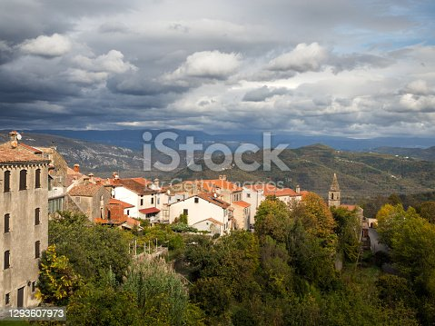 istock View of Motovun in istria Croatia 1293607973