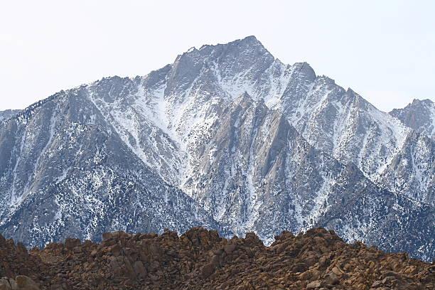 View of Mount Whitney stock photo