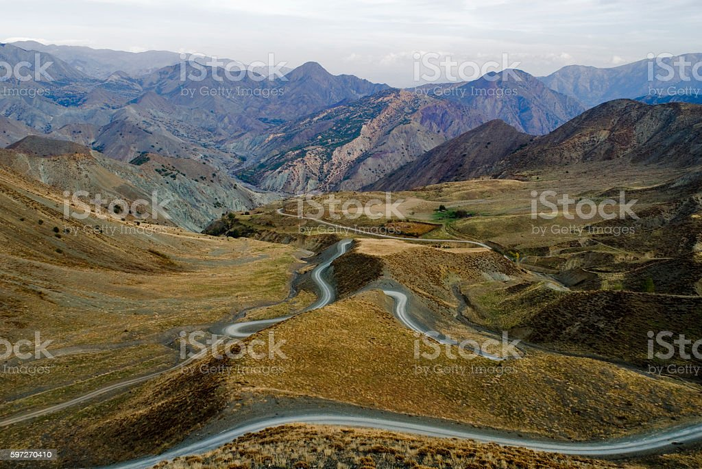 View of mountains Elazig, Turkey. Lizenzfreies stock-foto