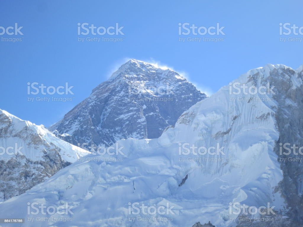 View of Mt Everest_2 royalty-free stock photo
