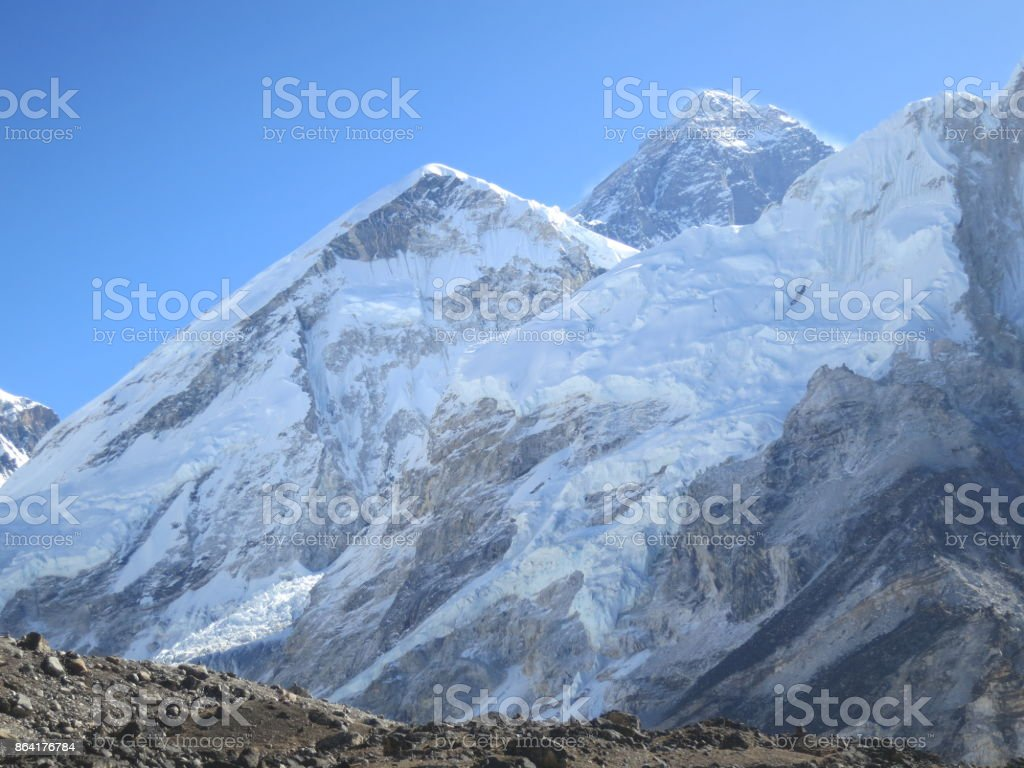 View of Mt Everest_4 royalty-free stock photo