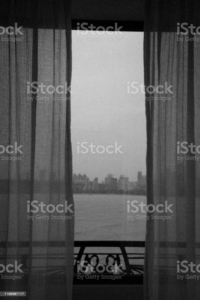 Mumbai, Famous, Travel, Tourism - Image of Marine Drive Skyline...