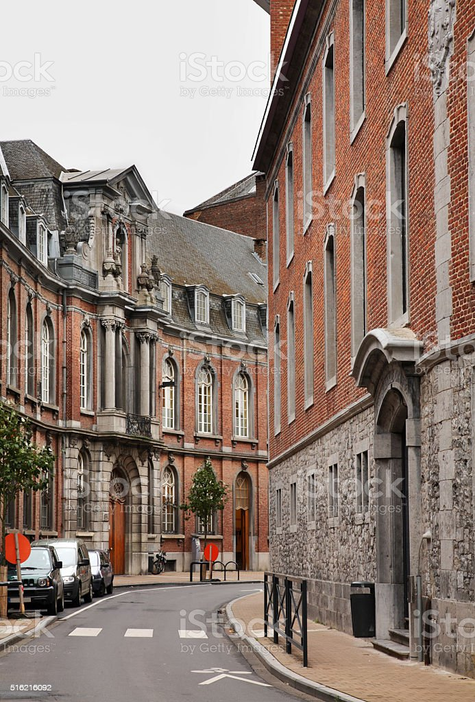 View of Namur. Belgium stock photo