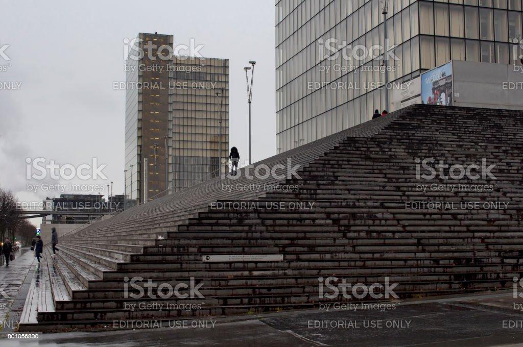Vue de la Bibliothèque nationale de France - François Mitterrand (Bibliothèque Nationale) à Paris. - Photo