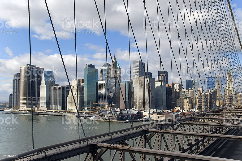 View of New York Citty royalty-free stock photo