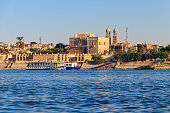 View of Nile river in Luxor, Egypt