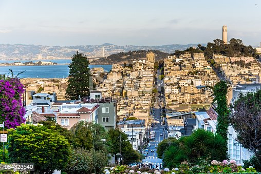 Lombard Street and North Beach