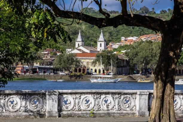 Blick auf alte Kolonialstadt Cachoeira – Foto