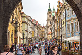 istock View of old town in Prague taken from Charles bridge 1130521667