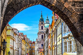 istock View of old town in Prague taken from Charles bridge 469596859