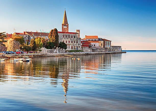 Blick auf die Altstadt von Porec, Kroatien – Foto