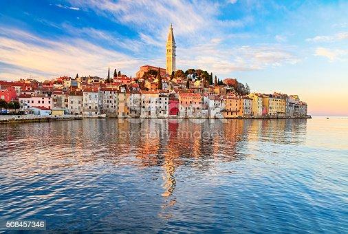 Port town Rovinj (Rovigno), Croatia