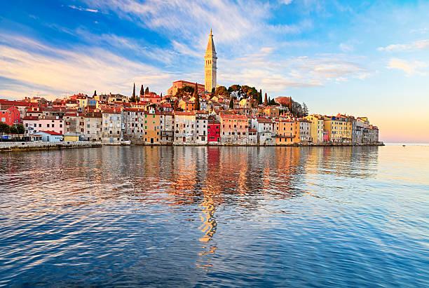 Blick auf die Altstadt von Rovinj, Kroatien – Foto