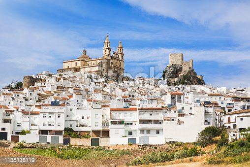1135138312istockphoto View of Olvera village, Andalusia, Spain 1135138119