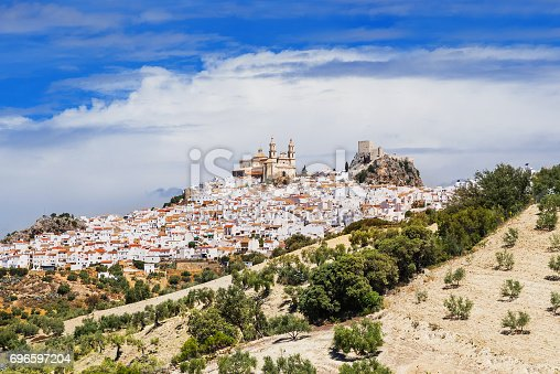 1135138312istockphoto View of Olvera village, Andalusia, Spain 696597204