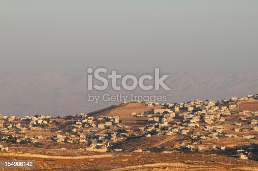 A Palestinian village on the outskirts of Bethlehem