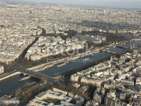 istock View of Paris from the Eiffel tower 139704676
