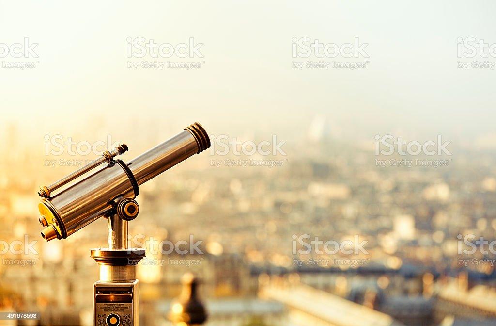 View Of Paris stock photo