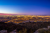 istock View of Phoenix at dusk from South Mountain 1207477778