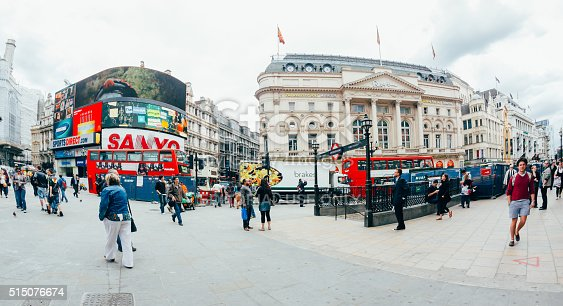 istock View of Piccadilly Circus on October 515076674