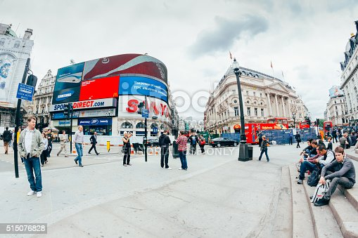istock View of Piccadilly Circus on October 515076828