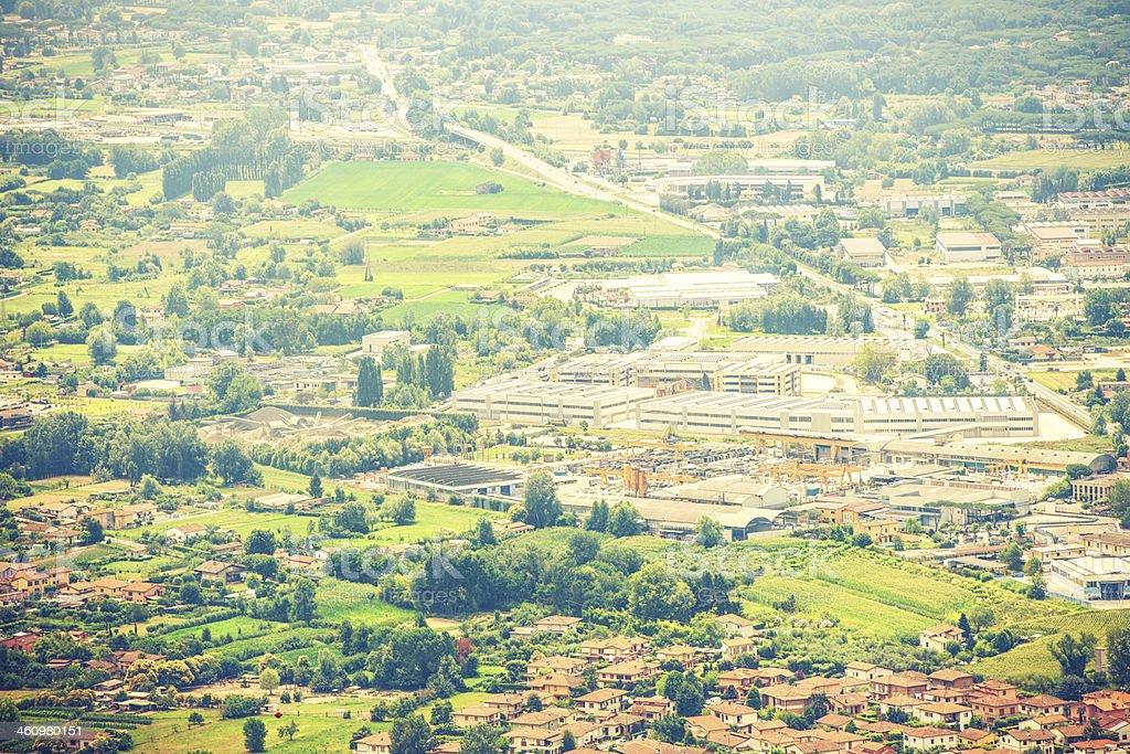 View of Pietrasanta Italy royalty-free stock photo
