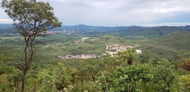 View of Pirenópolis Vista da natureza ao redor de Pirinópolis goias stock pictures, royalty-free photos & images