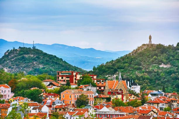 View of Plovdiv View of Plovdiv, Bulgaria bulgaria stock pictures, royalty-free photos & images