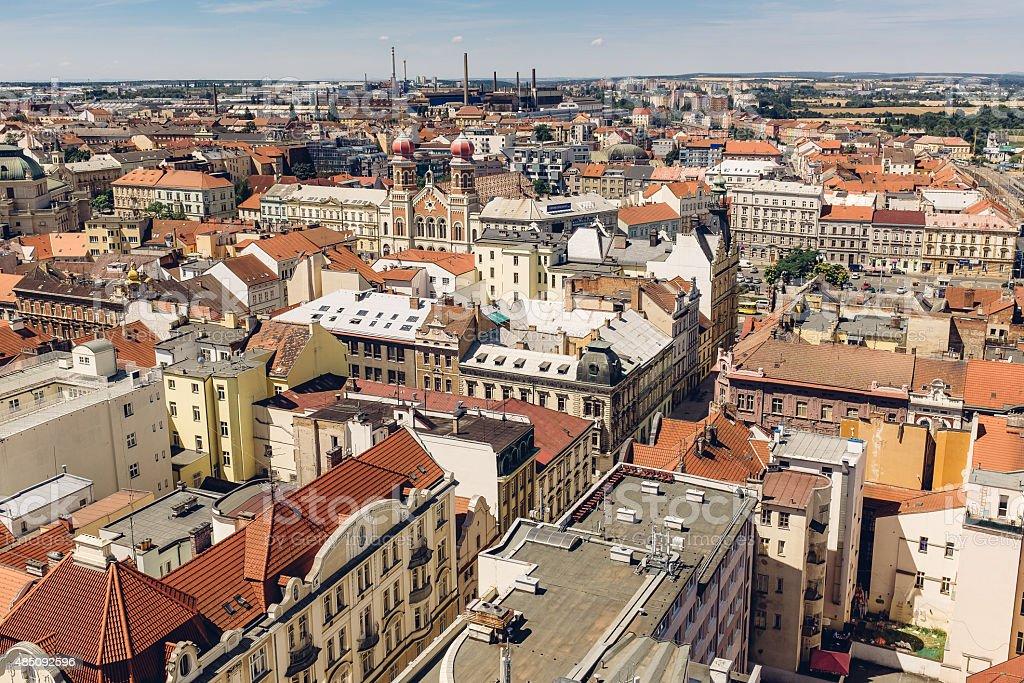 View of Plzen (Czech Republic) stock photo
