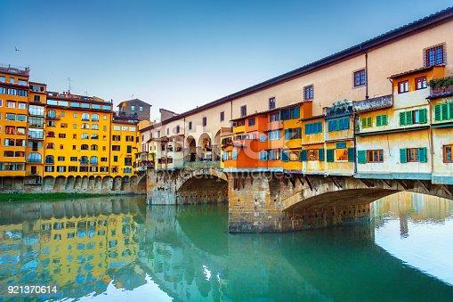 View of Ponte Vecchio. Florence, Italy