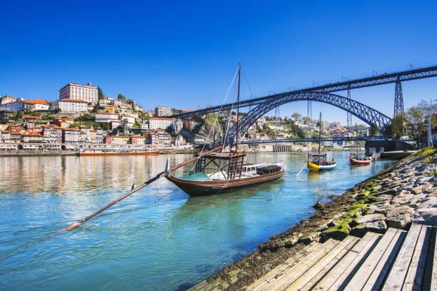 Blick auf die Stadt Porto, Portugal – Foto