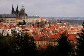 istock View of Prague Castle district (Hradčany) 458857855