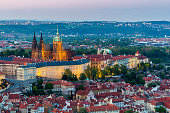 istock View of Prague Castle with St. Vitus Cathedral, Czech Republic 533431926