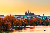 istock View of Prague Castle with St. Vitus Cathedral, Czech Republic 538641670