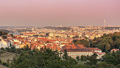 istock view of Prague City from the monastery strahov 618611532