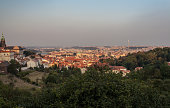 istock view of Prague City from the monastery strahov 618611670