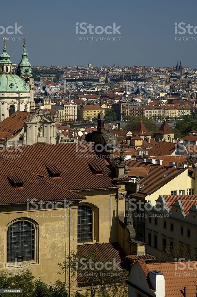 view of Prague royalty-free stock photo